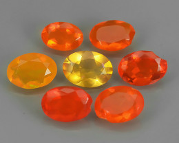 2.90 CTS BEST QUALITY~TOP COLOR EXTREME WONDER LUSTROUS GENUINE FIRE OPAL!