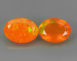 ~ BEST QUALITY~TOP COLOR EXTREME WONDER LUSTROUS GENUINE FIRE OPAL!