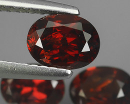 2.35 CTS  DAZZLING GOOD LUSTER 100% NATURAL FANCY RED SPINEL GEMSTONE!!