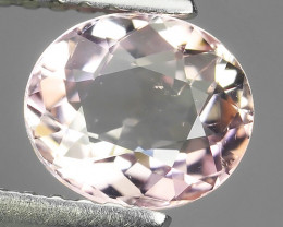 1.00 CTS EXCELLENT FANCY OVAL CUT 100% NATURAL PINK MOZAMBIQUE TOURMALINE!!