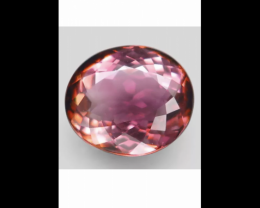 3.95 ct Watermelon Tourmaline -VVS Gorgeous