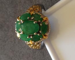 Zambian Emerald Ring 2.25 TCW