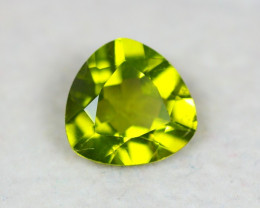 2.07Ct Green Peridot Trillion Cut Lot LZ2038