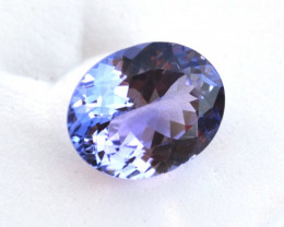 2.64 Carat Very Fine Oval Cut Tanzanite