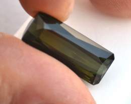 13.22 Carat Huge Scissor Cut Green Tourmaline