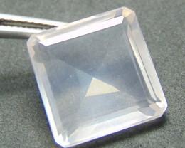 Rose quarts~ square  ~ faceted stones  28.40cts
