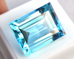 45.79 Carat Very Fine Emerald Cut Topaz