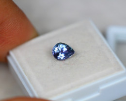 1.08ct Violet Blue Tanzanite Pear Cut Lot V3586