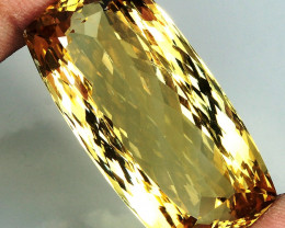 Unheated    64.35 ct. 100% Natural Top Yellow Golden Citrine Brazil