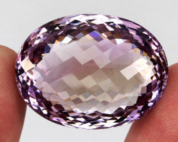 Unheated Big 78.43 ct.  100% Natural Bi Colors Purple Yellow Ametrine