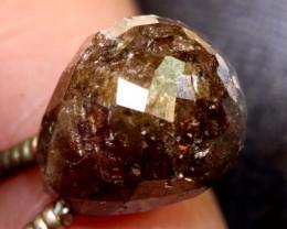 4.20-CTS BROWN DIAMOND DRILLED BRIOLETTE SD-295