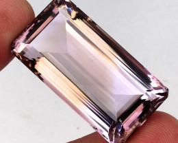 Big! 80.76 ct. 100% Natural Top Bi Colors Purple Yellow Ametrine