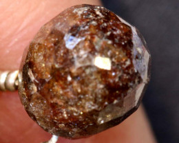 3.10-CTS BROWN DIAMOND DRILLED BRIOLETTE SD-299