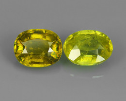FINIST EVER 2.05 CTS MAGNIFICENT NATURAL RARE QUALITY FANCY SPHENE!!