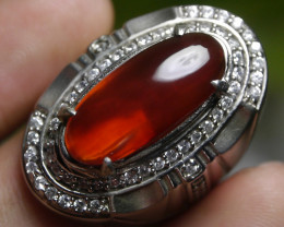 70.60 CT RARE Untreated RICH RED Chalcedony Indonesian Jewelry