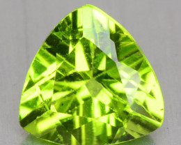 1.32 CTS Unheated Parrot Green Color natural Peridot Loose Gemstones