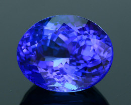 AAA Grade 3.38 ct Tanzanite eye catching Color SKU.13
