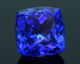 AAA Grade 3.79 ct Tanzanite eye catching Color SKU.13
