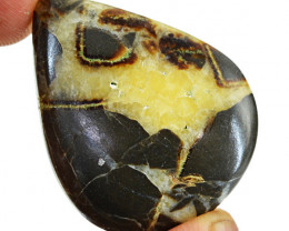 Genuine 57.50 Cts Septarian Agate Gemstone