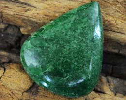 Genuine 33.00 Cts Verdite Pear Shape Gemstone