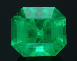 AAA Grade & Clarity 12.36 ct Colombian Emerald
