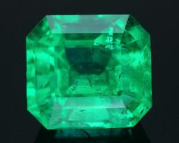 AAA Grade & Clarity 20.05 ct Colombian Emerald