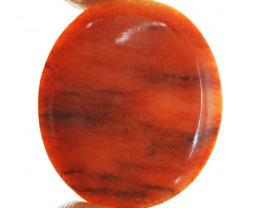 Genuine 23.50 Cts Orange Aventurine Gemstone