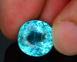 AAA Clarity & Cut 12.65 ct Lagoon Paraiba Tourmaline