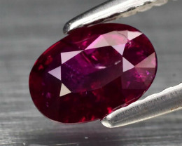 Certified Natural Ruby - 0.67 ct