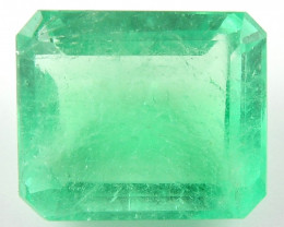 3.10 ct Natural Colombian Emerald Green Gem Loose Gemstone Stone