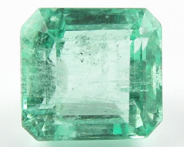 1.79 ct Natural Colombian Emerald Green Gem Loose Gemstone Stone