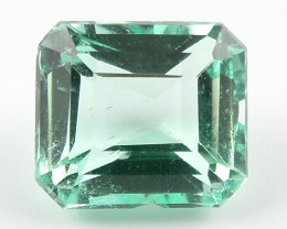 1.06 ct Natural Colombian Emerald Green Gem Loose Gemstone Stone