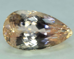 NR - 51.50 Carats Peach Pink Color Kunzite Gemstone