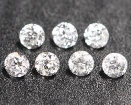 1.10mm 7Pcs G Color VS2-SI Clarity Natural Loose Diamond B1602