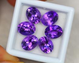 10.91ct Purple Amethyst Oval Cut Lot V4006