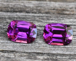2.78cts Purple Garnet Pair - Grape Garnet - Mozambique (RG192)
