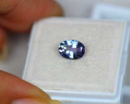 1.12Ct Violet Blue Tanzanite Oval Cut Lot LZ2059