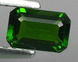 -ALLURING TOP GREEN PARTY COLOR CHORME TOURMALINE OCTAGON CUT!!!