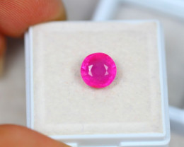 2.61ct Pinky Ruby Round Cut Lot P03