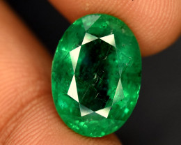 5.60 * Carats AAA Grade Color Natural Top Grade Emerald Gemstone