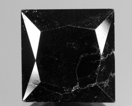6.37 CTS  AMAZING RARE FANCY DEEP JET BLACK NATURAL LOOSE DIAMOND