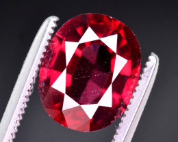 Brilliant Color 3.00 Ct Natural Rhodolite Garnet. RA