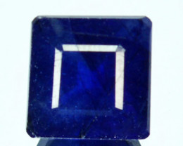 Natural Blue Sapphire(Composite) Square 3.14 Cts
