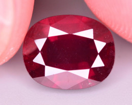 Brilliant Color 4.55 Ct Natural Rhodolite Garnet. RA