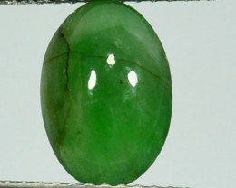 Forest Green! 2.07Ct Natural Jadeite Oval Cab Burma