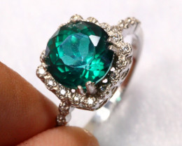 14.66cts 925 Sterling Silver Ring /6