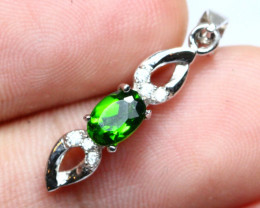 5.00cts 925 Sterling Silver Pendant /13