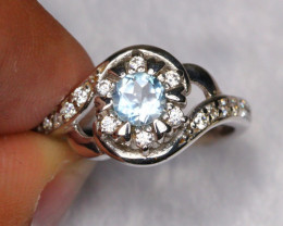 18.81cts 925 Sterling Silver Ring /ZA349
