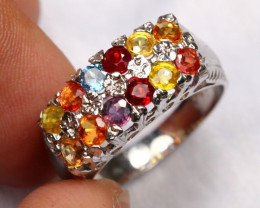 18.45cts 925 Sterling Silver Ring /R88