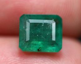 2.52Ct Natural Vivid Green Zambian Emerald  E1702